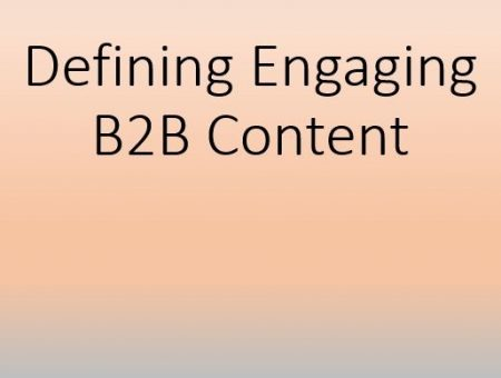 Engaging B2B content